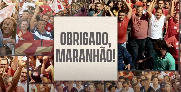 Vitória do PCdoB: Flávio Dino é reeleito governador do MA no 1º turno