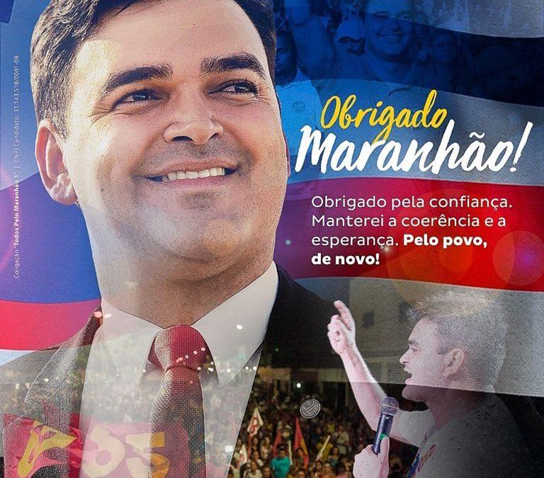 Rubens Jr é reeleito deputado federal no Maranhão: Pelo povo, de novo!